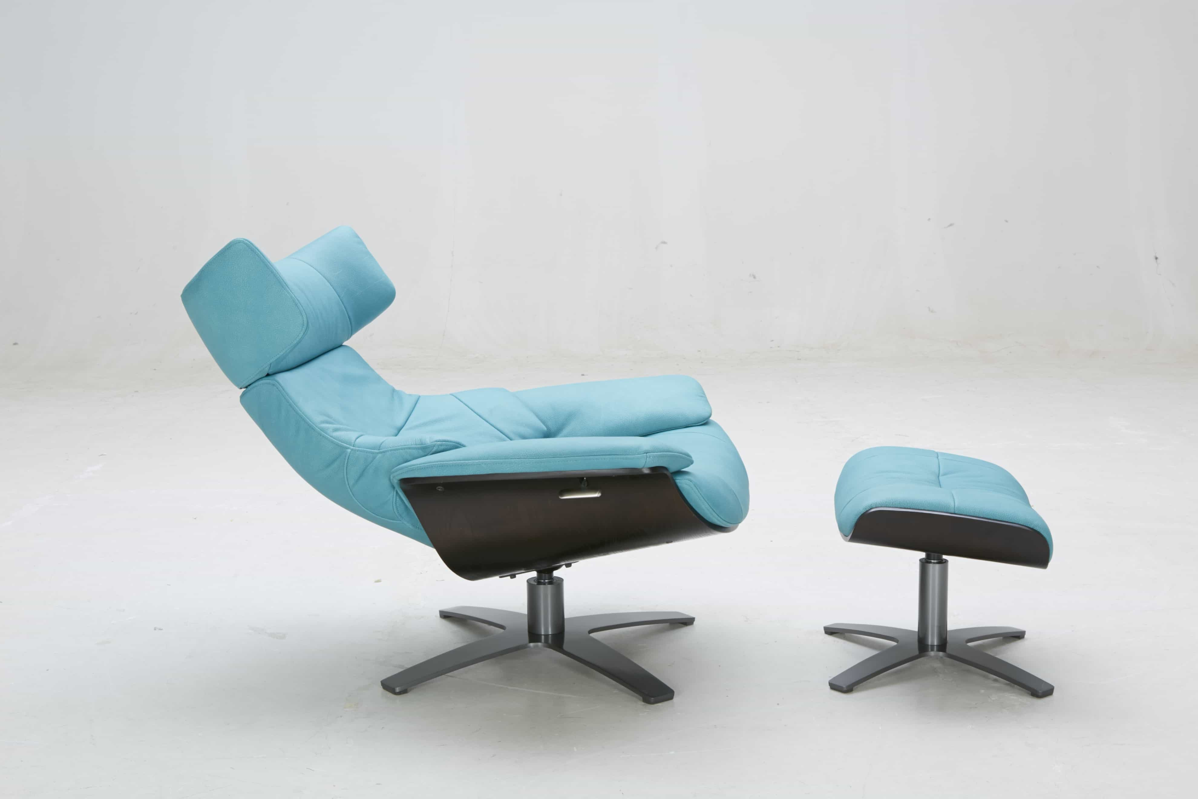 A985 Recliner Lounge Chair With Fool Stool Carlo Hofmann