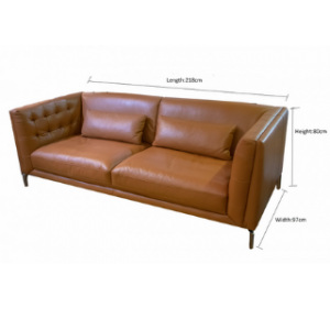 Calf Leather Sofa