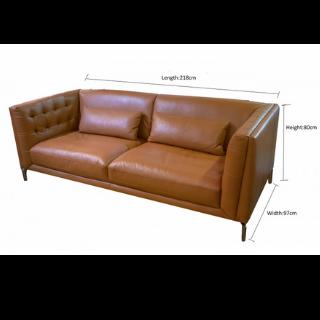 Calf Leather Sofa