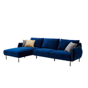 L-shape fabric Sofa