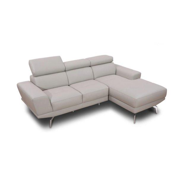 KT003 L Shape Leather Sofa