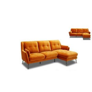 KF-2003 Full Fabric L Shape Sofa