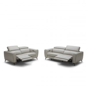 5321- Incliner Leather Sofa