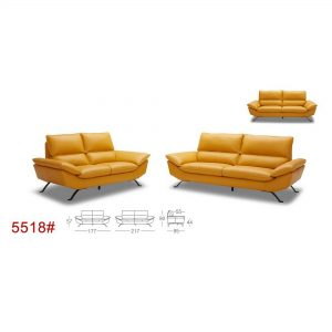 5518 Leather Sofa