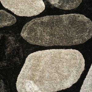 3D Shaggy carpet SR1345 Grey
