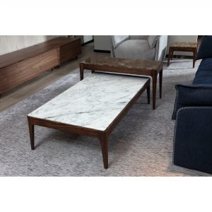 BRC9553B-2 Marble Coffee Table
