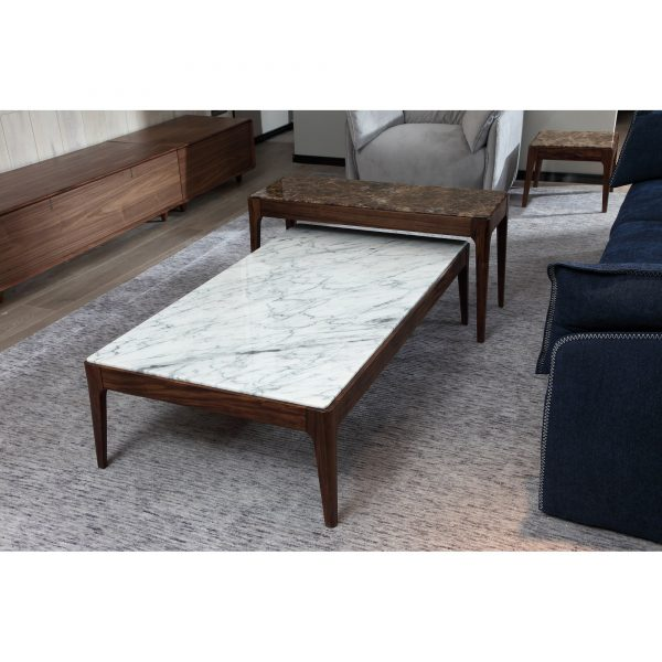 BRC9553A-1 Marble Coffee Table