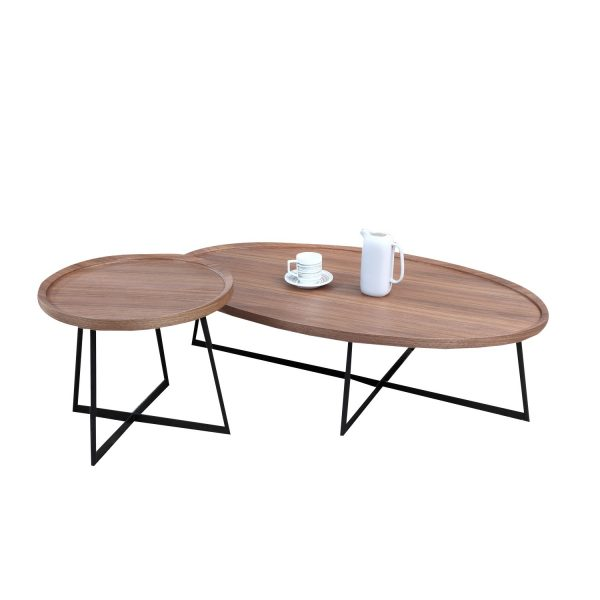 BRC6588A Solid Wooden Coffee Table