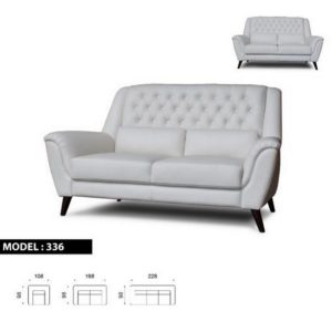 336 Leather Sofa
