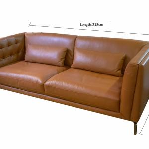 Model: EX0.13-Leather Sofa