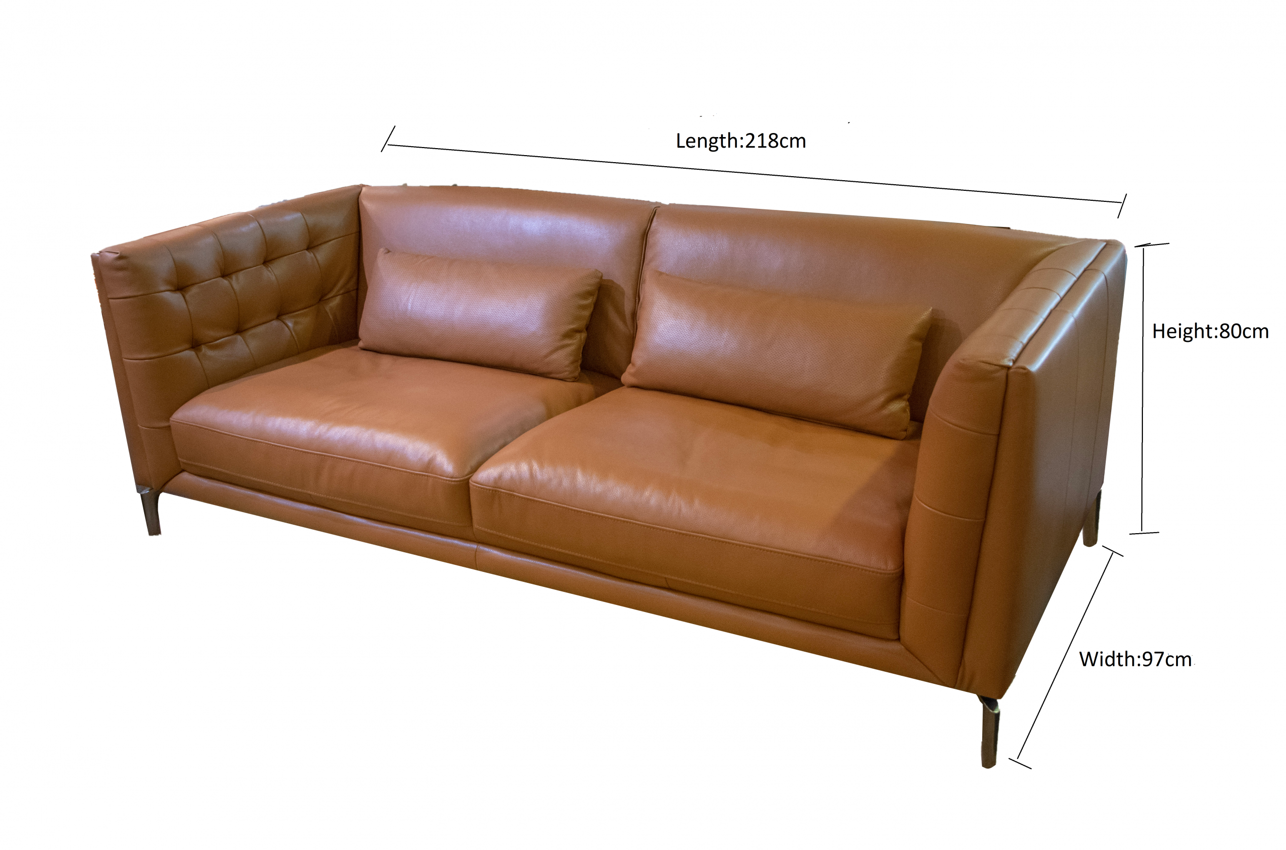 Ex 013 Leather Sofa Carlo Hofmann