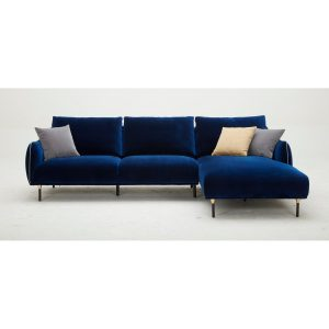 KF2039 L Shape Fabric Sofa