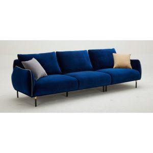 KF2039 L Shape Fabric Sofa