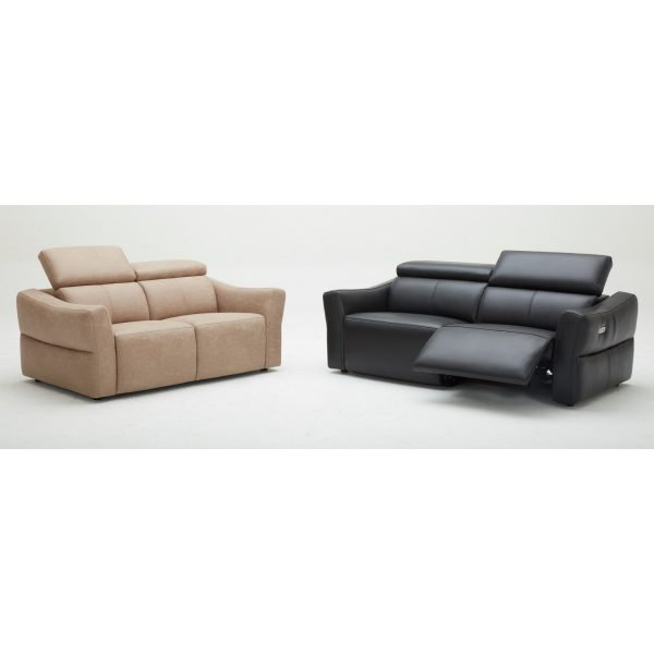 KM5018- Electric Motor recliner Leather Sofa