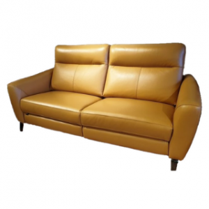 High Back Leather Sofa