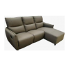 L-Shape Leather Sofa