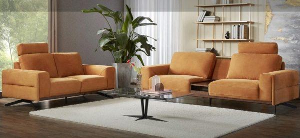 3+2 Leather Sofa